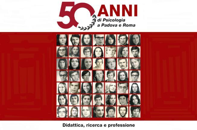 Collegamento a 50 anni di Psicologia a Padova e Roma